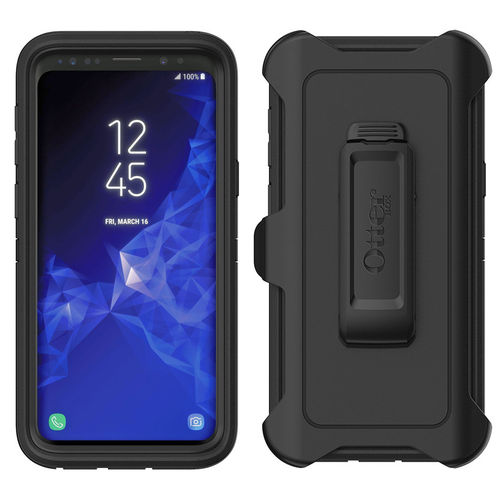 OtterBox Defender Shockproof Case for Samsung Galaxy S9 - Black